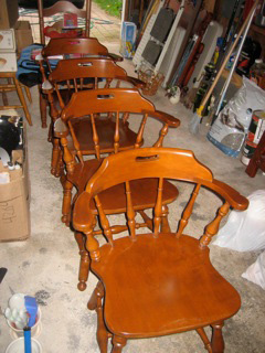 Repaired Chairs